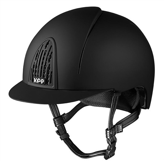 KEP Cromo Smart Riding Hat Shell in Black Size Large Shell 59cm-62cm