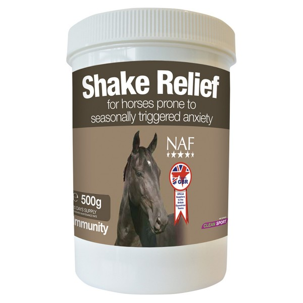 NAF Shake Relief For Seasonal Anxiety
