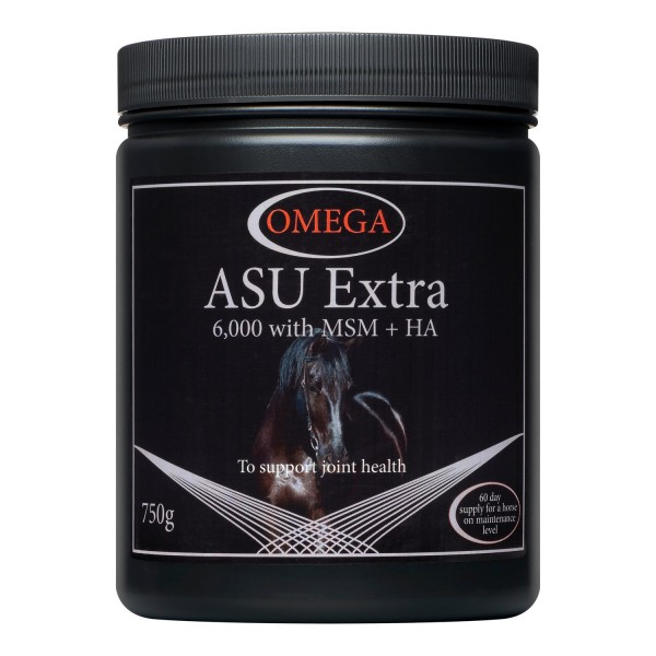 Omega Equine ASU Extra 750 grams For Joint Health