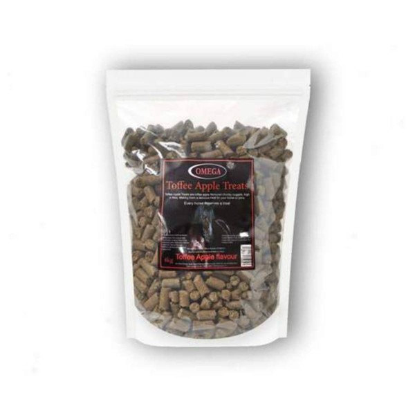 Omega Equine Coconut and Toffee AppleTreats 4KG