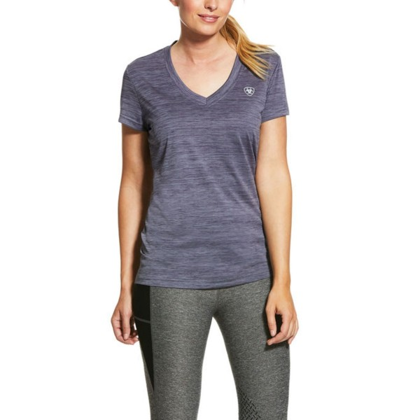 Ariat Woman's Laguna Top GreyStone Heather