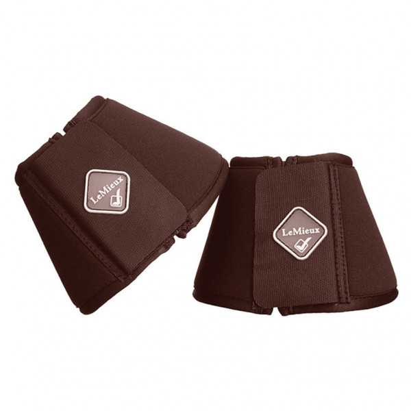 LeMieux Soft Shell Over Reach Boots Brown