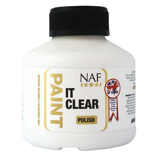 NAF Paint It Clear Hoof Polish