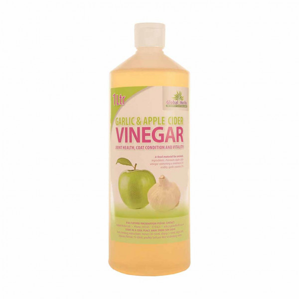 Global Herbs Garlic & Apple Cider Vinegar