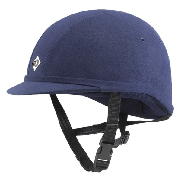 Charles Owen Young Riders YR8 navy