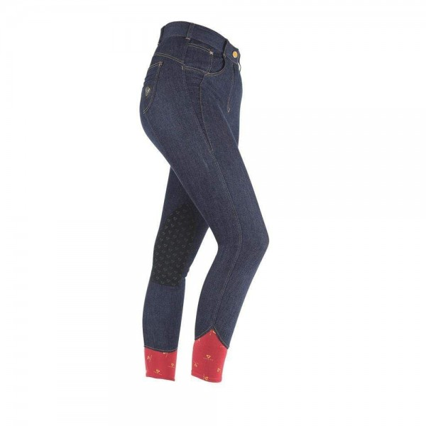Shires Aubrion Ladies Emmons Breeches Denim Blue