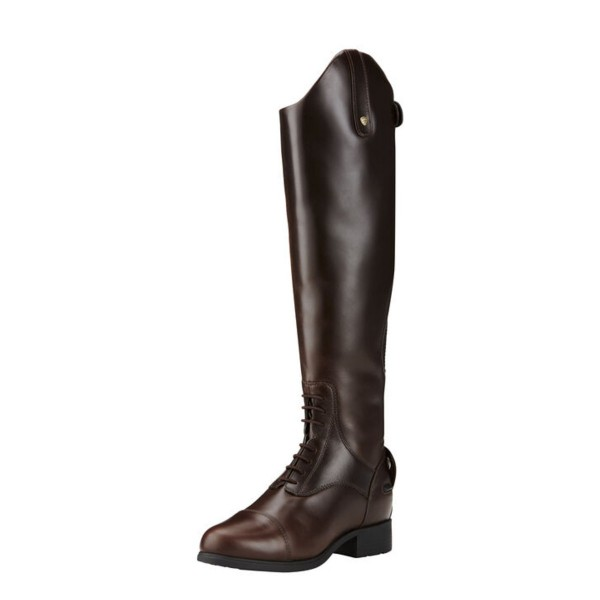 Ariat Womens Bromont Pro Tall H20 Insulated Boot Wax Choc