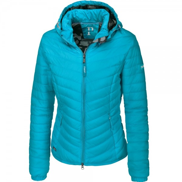 Pikeur Calera Women's Quilted Jacket Caribbean Sea Blue