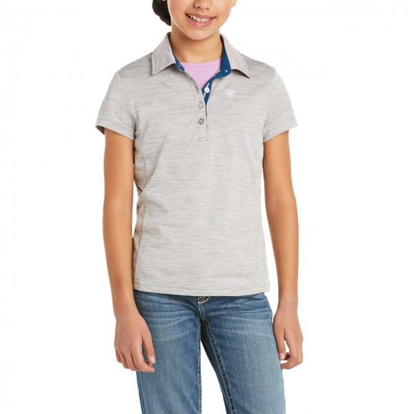 Ariat Youth Laguna Short Sleeved Polo Top