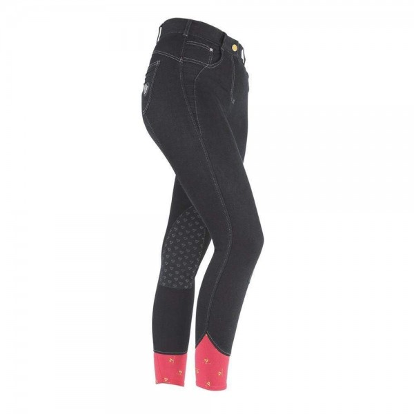 Shires Aubrion Ladies Emmons Breeches Denim Black
