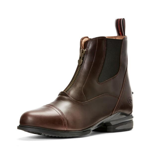 Ariat Womens Devon Nitro Paddock Boot Wax Chocolate