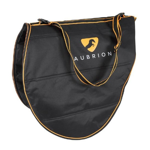 Shires Aubrion Saddle Bag Black