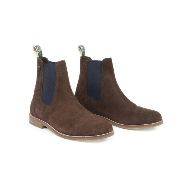 Shires Adult Moretta Antonia Suede Chelsea Boots Brown