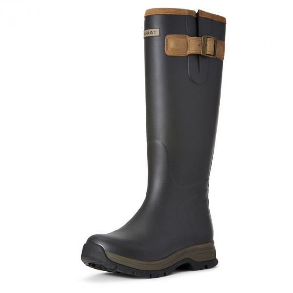 Ariat Womens Burford Waterproof Rubber Boot Brown