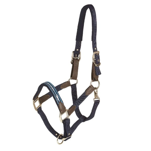 Schockemohle Memphis Safety Style Halter Moonlight Blue