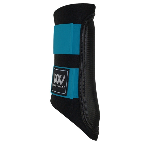 Woof Wear Club Brushing Boot Black/Turquoise