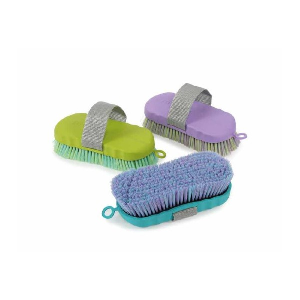 Shires Ezi-Groom Contour Body Brush