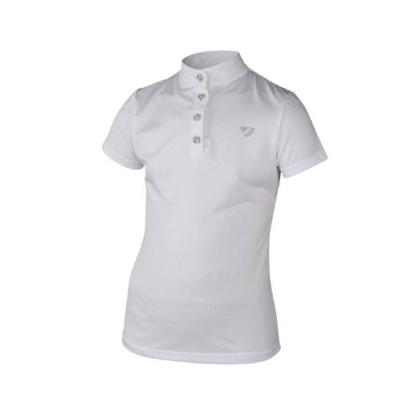 Shires Maids Aubrion Monmouth Show Shirt White
