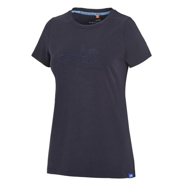 Schockemohle Laila Style Womens Polo Moonlight Blue