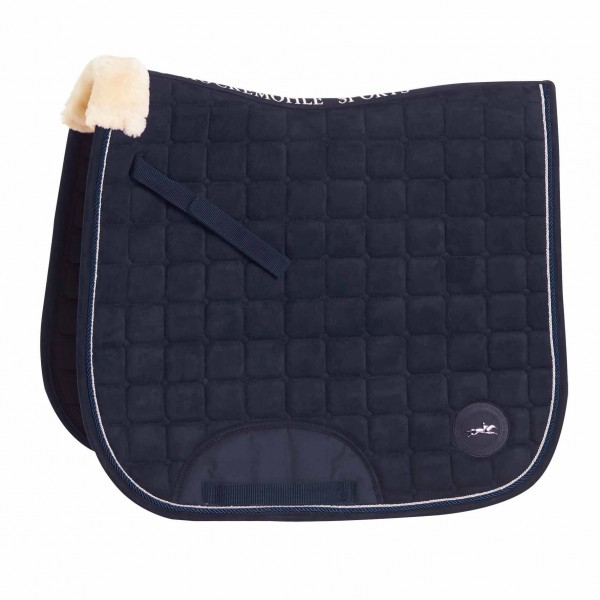 Schockemohle Magic Pad D Style Saddlepad Navy