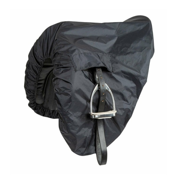 Shires Waterproof Ride-On Dressage Saddle Cover Black