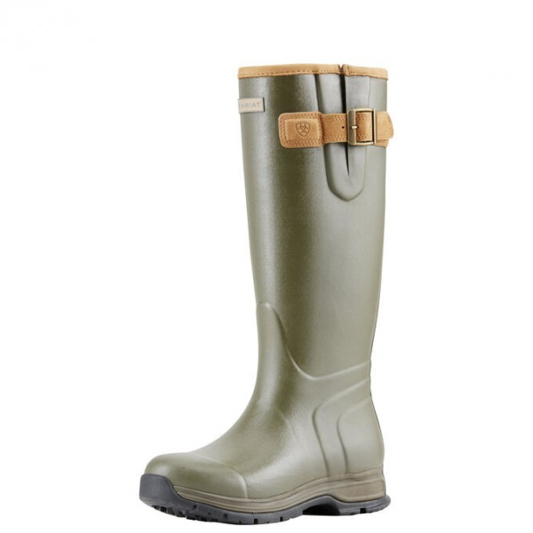 Ariat Womens Burford Insulated Rubber Boot Olive Green