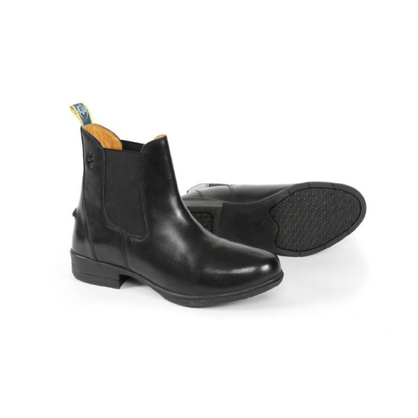 Shires Junior Moretta Lucilla Leather Jodhpur Boots Black
