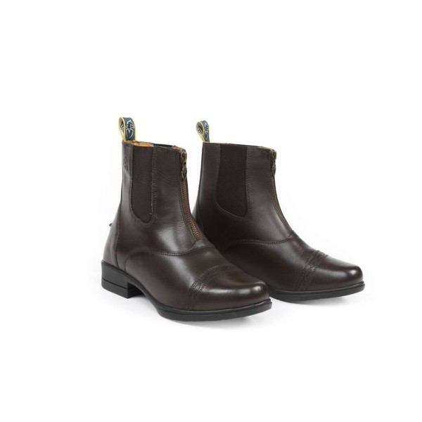 Shires Adult Moretta Rosetta Paddock Boots Brown