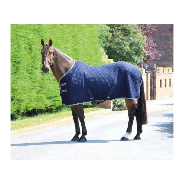 Shires Tempest Original Technical Cooler Horse Rug Navy