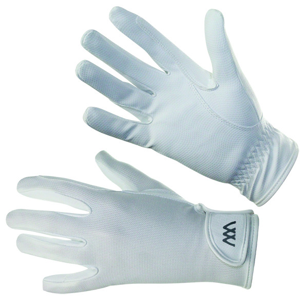 Woof Wear Connect Riding Glove White
