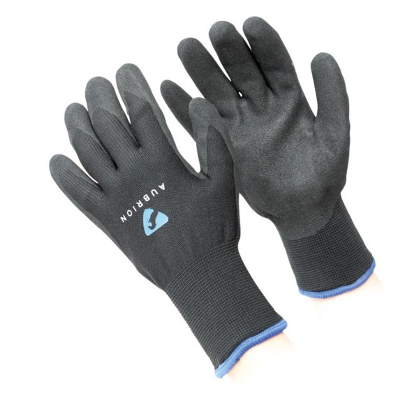 Shires Aubrion All Purpose Winter Yard Gloves Black