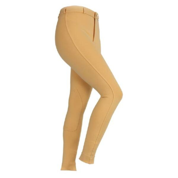 Shires Maids SaddleHugger Jodhpurs Canary