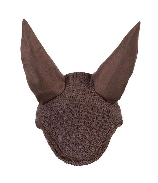 LeMieux Vogue Fly Hoods Brown/Brown Braid