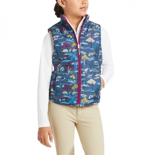 Ariat Youth Emma Insulated Reversible Vest