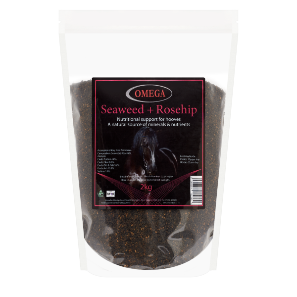 Omega Equine Seaweed and Rosehips 2KG