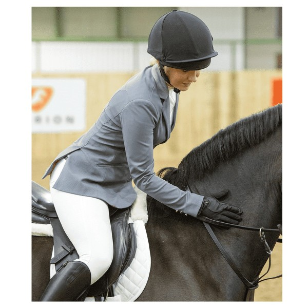 Shires Ladies Aubrion Calder Show Jacket Grey