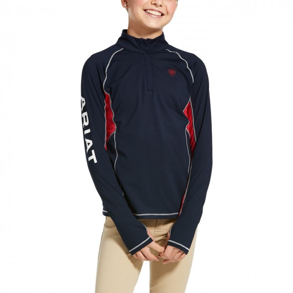 Ariat Youth Lowell 2.0 1/4 Zip Baselyer Team