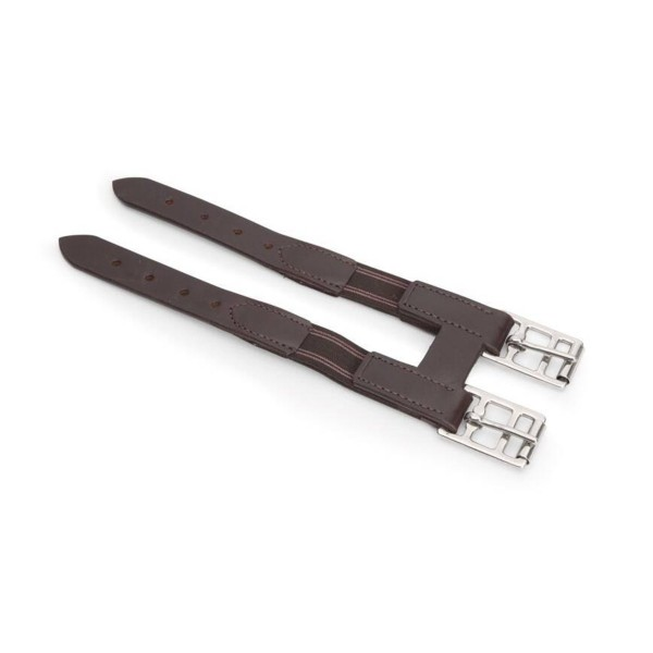 Shires Blenheim Leather Girth Extender with elastic (33cm)