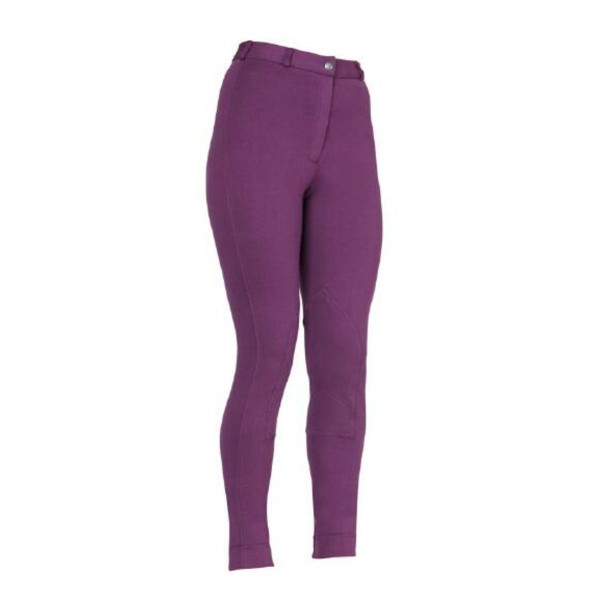 Shires Maids Wessex Jodhpurs Purple