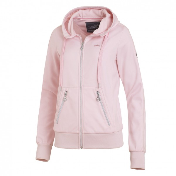 Schockemohle Candy Style Womens Zip Hoodie Dusty Rose