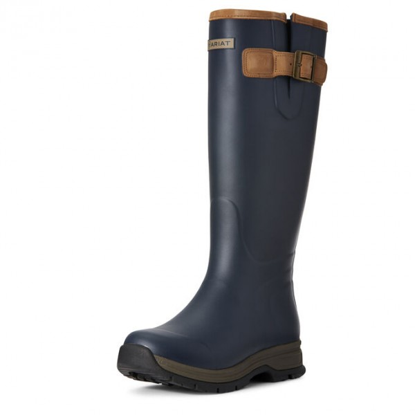 Ariat Womens Burford Waterproof Rubber Boot Navy