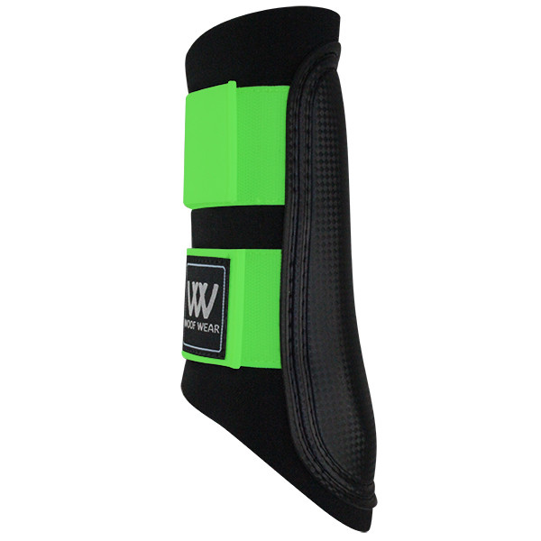 Woof Wear Club Brushing Boot Black/Lime