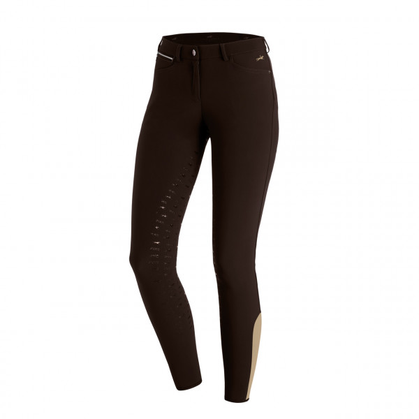 Schockemohle Electra Ladies Breeches Dark Brown
