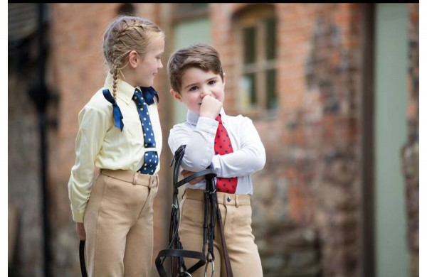 Long Sleeve Tie Shirt - Childrens