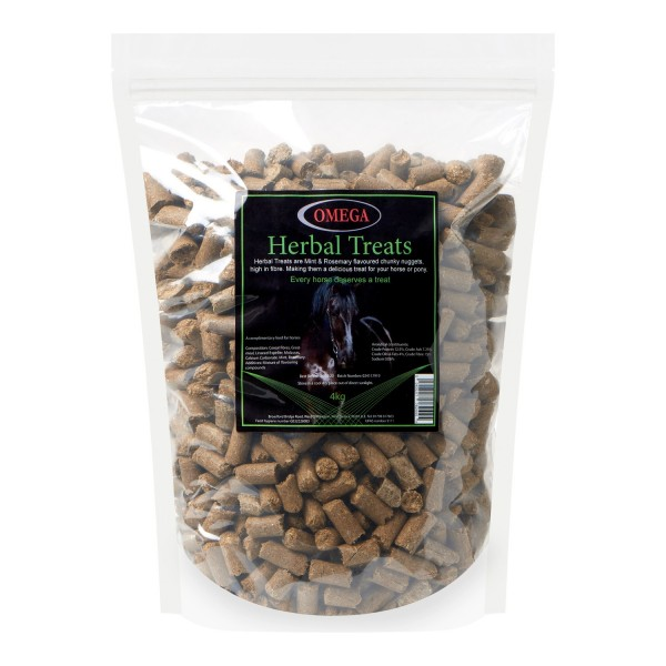 Omega Equine Herbal Treats 4 KG