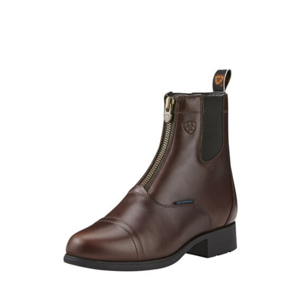 Ariat Womens Bromont Pro Zip H20 Insulated Boot Waxed Choc