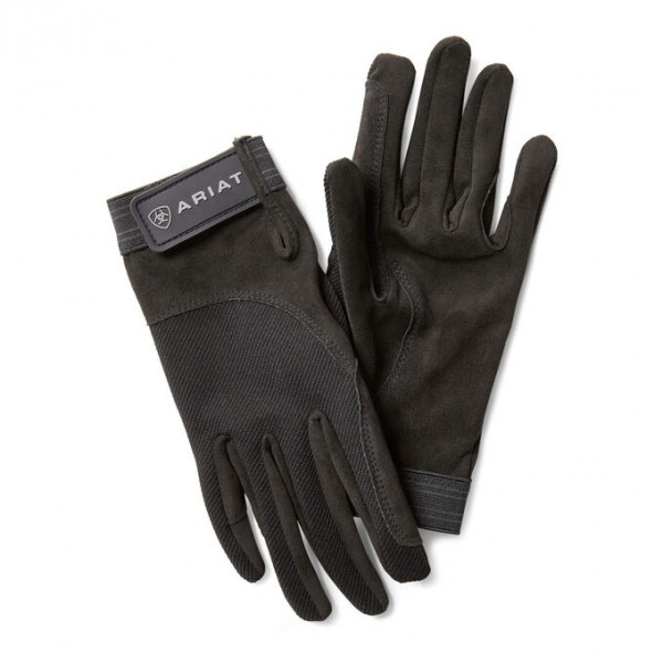 Ariat Unisex Tek Grip Gloves Black