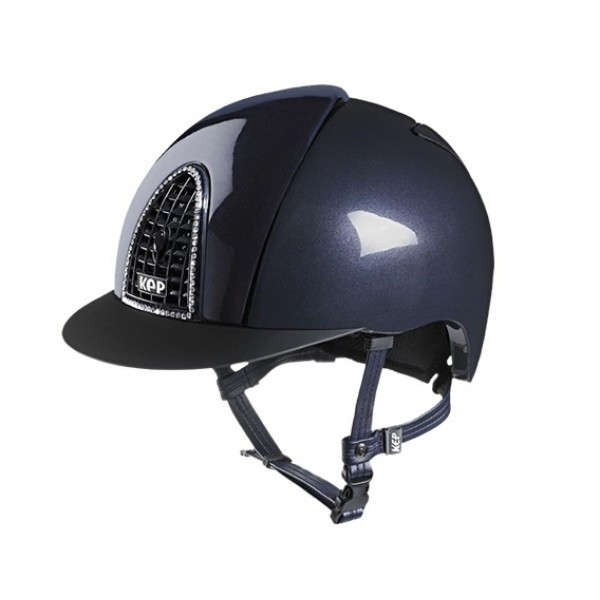 KEP Cromo Shine Riding Hat in With Crystals Size 51cm-58cm