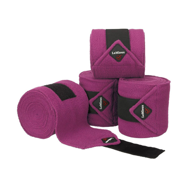 LeMieux Luxury Polo Bandages Plum