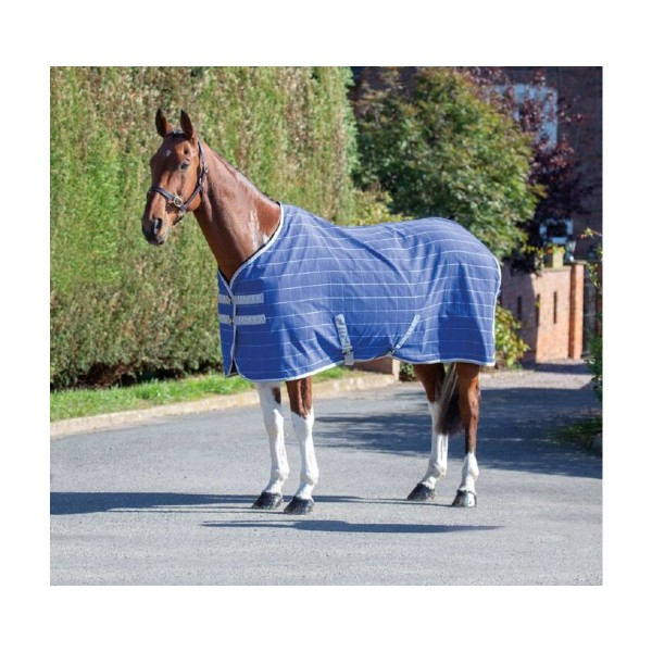 Shires Tempest Original Horse Stable Sheet Blue Check